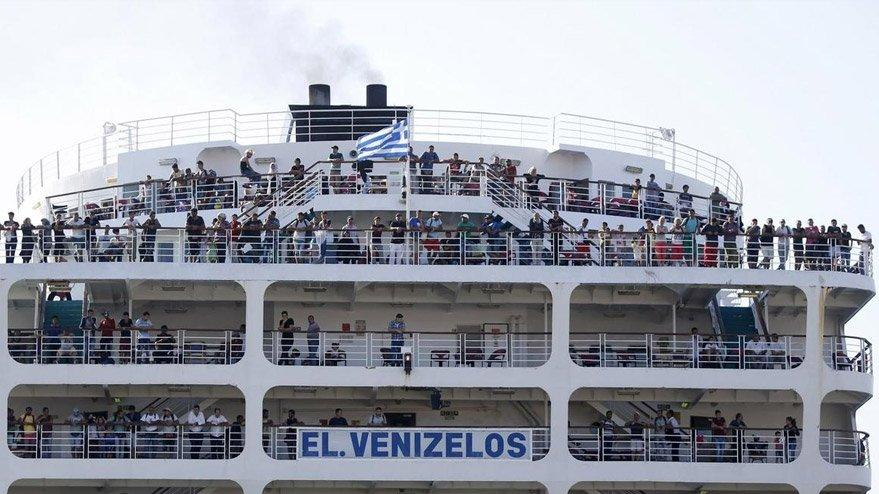 Limandaki karantinada 65 Türk vatandaşında corona tespit edildi