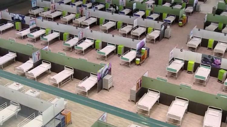 İran'ın en büyük AVM'si hastaneye dönüştürüldü!