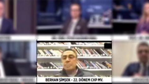 Berhan Şimşek canlı yayında olduğunu unuttu, sigara yaktı!