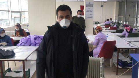 CHP'li belediye maske üretimine başladı: İsteyen kuruma ücretsiz verilecek