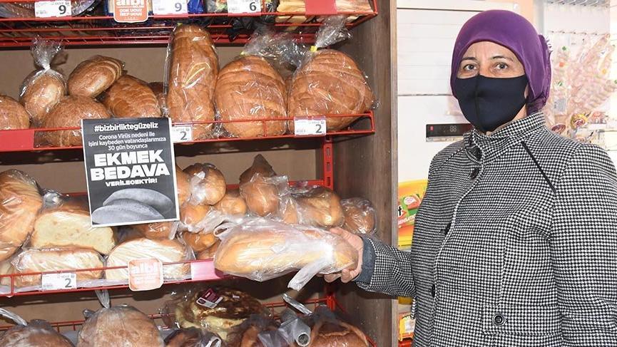 İhtiyaç sahiplerine ücretsiz ekmek