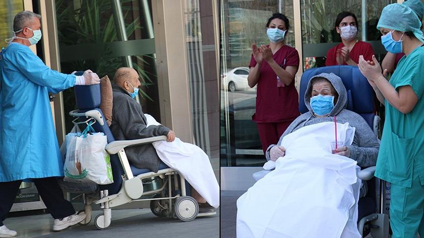 80 ve 89 yaşlarındaki çift corona virüsü yendi