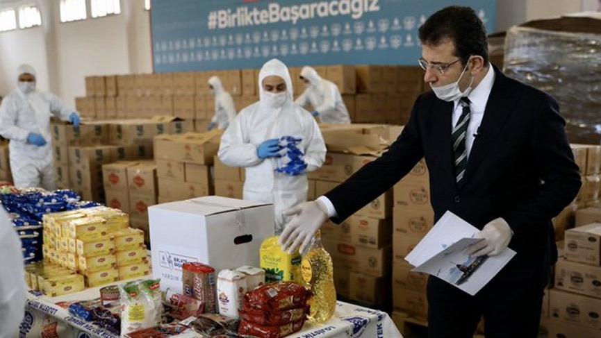 İBB'ye 3 günde 266 bin 470 aileden gıda yardımı talebi!