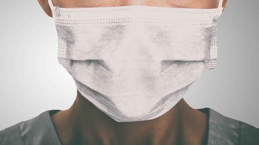 koronavirüsten korunma maskesi