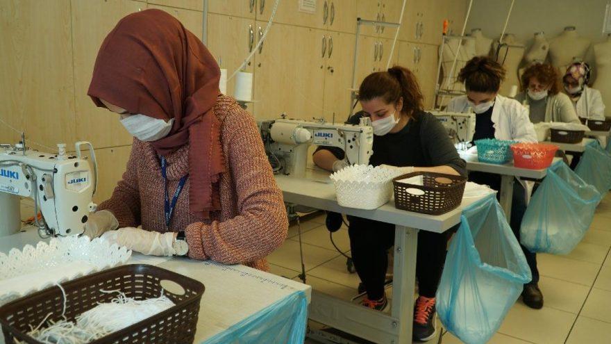 İBB günde 10 bin maske üretip ücretsiz dağıtacak