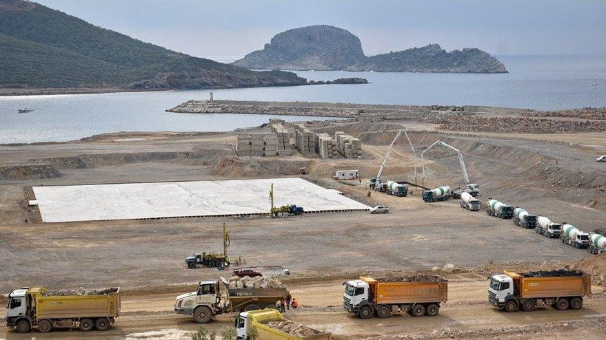Corona günlerinde Akkuyu inşaatında 5 bin 300 kişi çalışıyor