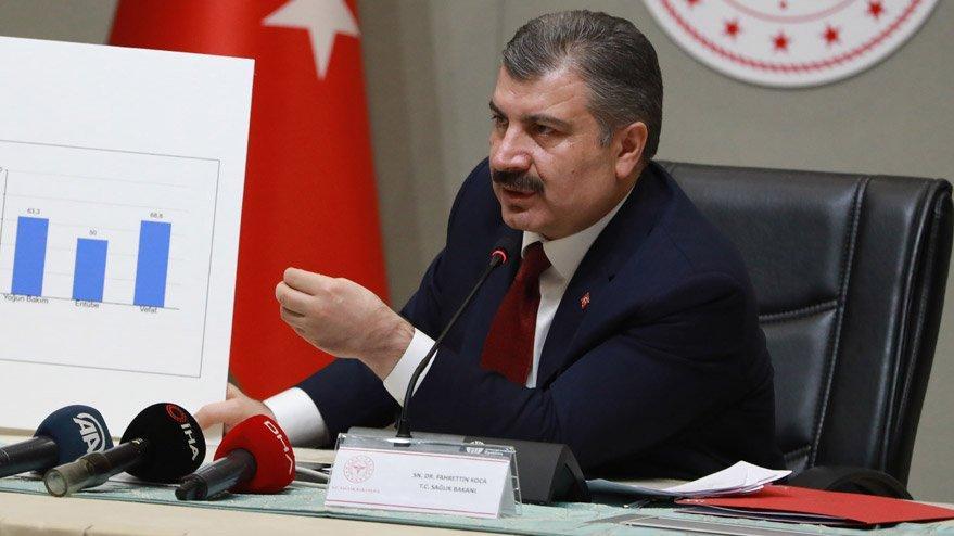 Sağlık Bakanı Koca, İstanbul'daki salgın hastaneleriyle ilgili detayları açıkladı