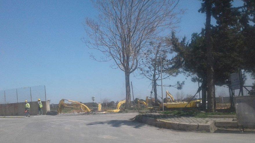 Sahra hastanesinin inşaatı, Atatürk Havalimanı'nın yanında başladı