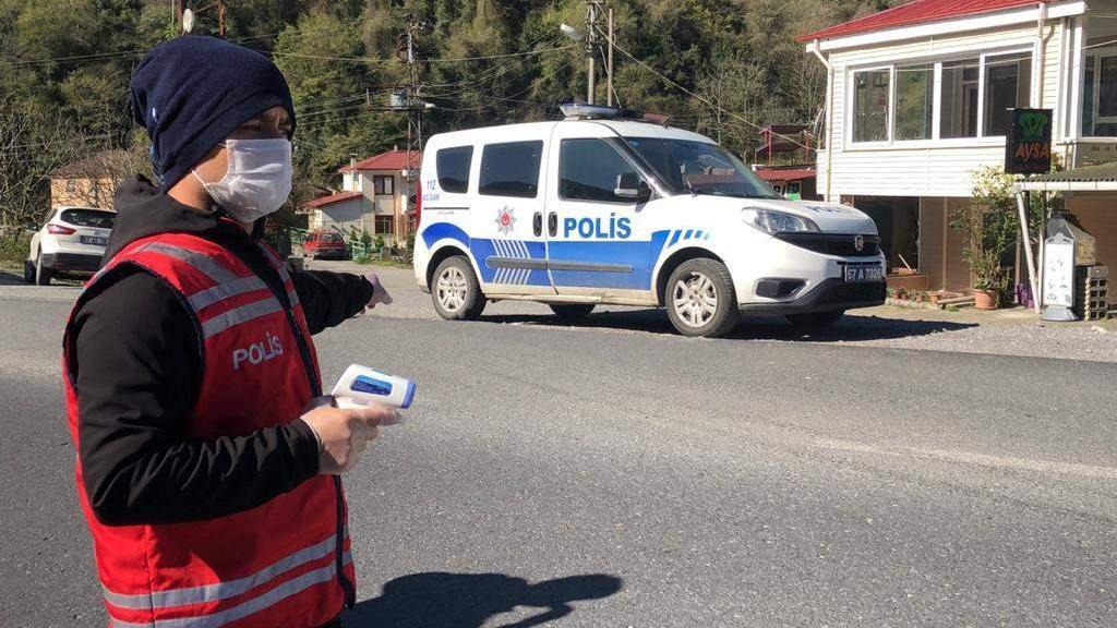 Zonguldak önlemi... İlçelerde de geçişlere sınırlandırma başladı