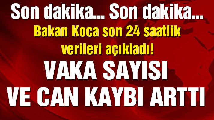 Son dakika… Bakan Koca Türkiye'deki corona vakaları ve can kaybını açıkladı! (7.04.2020)