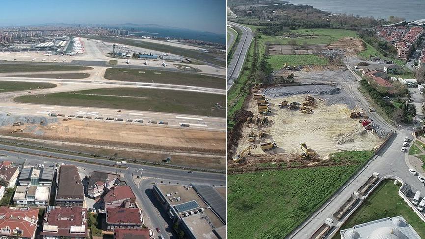 Atatürk Havalimanı'na yapılacak bin yataklı hastanenin yeri bir gecede değişti!