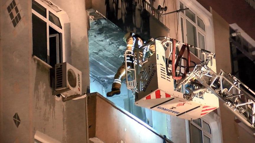 İstanbul'da doğalgaz patlaması: 1'i ağır 4 yaralı var
