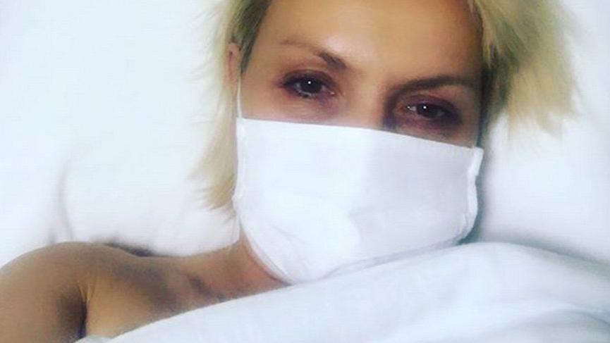 Seda Akgül hastane odasından paylaştı