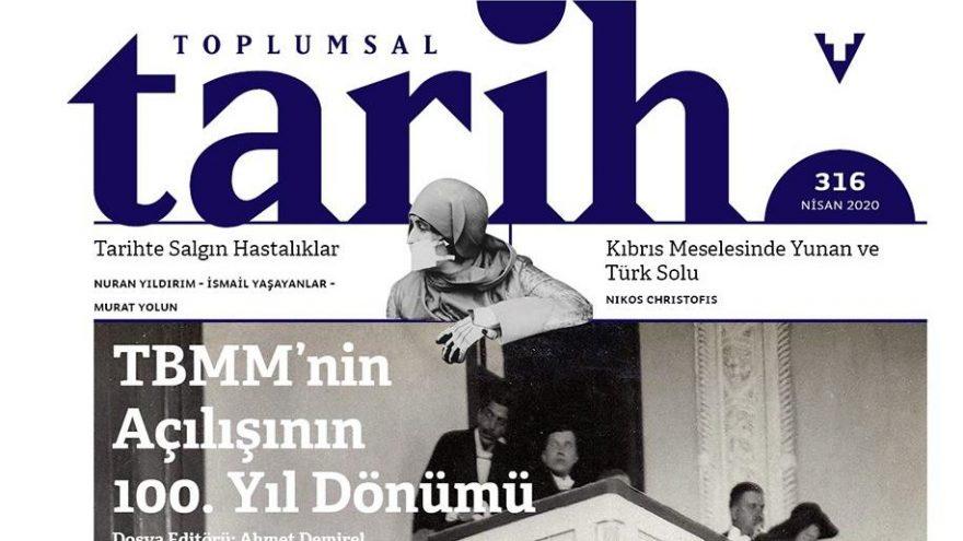Toplumsal Tarih dergisinin yeni sayısı online formatta ve ücretsiz