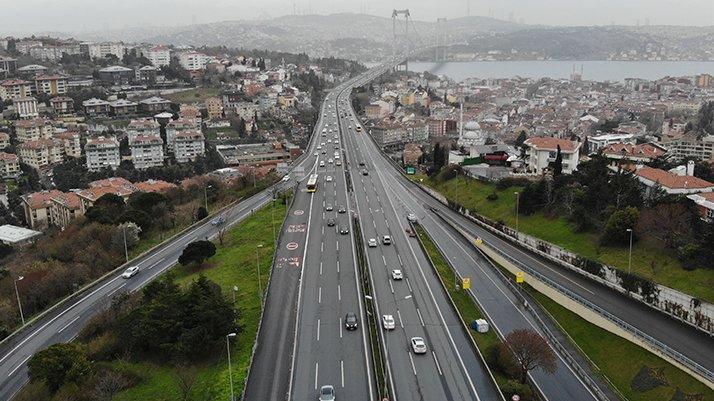 İstanbul trafiğinde corona bilançosu açıklandı