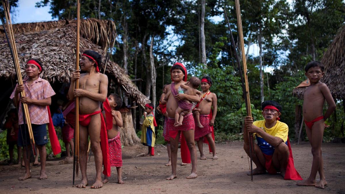 Corona engel tanımıyor! Amazon kabilesine bile bulaştı