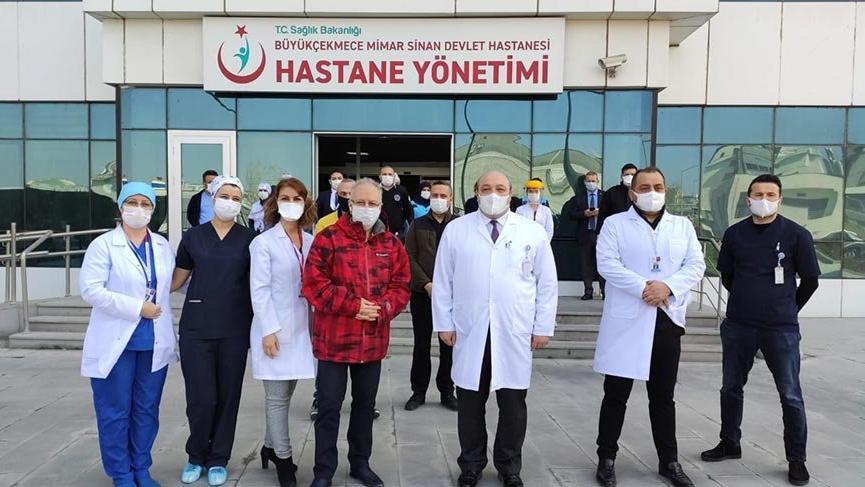64 yaşındaki Prof. Dr. Özyaral da corona virüsünü yendi