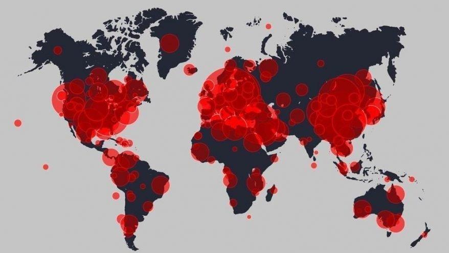 Corona virüsü haritası: Can kaybında büyük artış! Türkiye'de kaç vaka var?