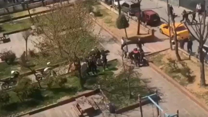Polise saldırı görüntüleriyle sosyal medyada gündem oldu