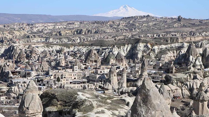 Kapadokya'da corona virüsü sessizliği