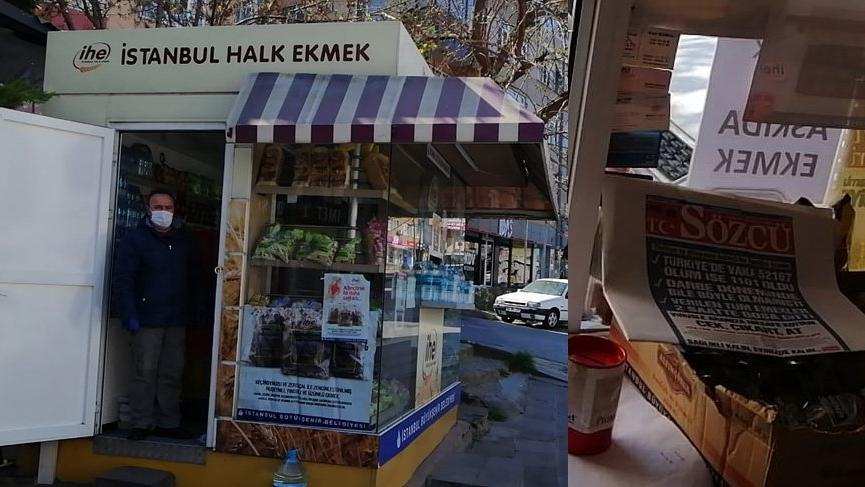İstanbul Halk Ekmek büfelerinde SÖZCÜ'ye büyük ilgi