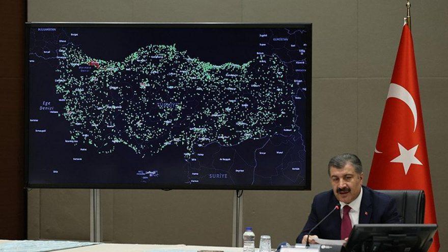 Bakan Koca, Türkiye'deki son corona virüsü vaka sayısını açıkladı (13.04.2020)