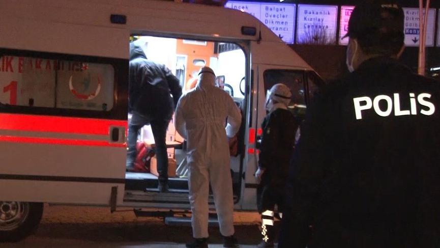 Ankara'da otobüsteki corona şüphelisi hastaneye kaldırıldı!