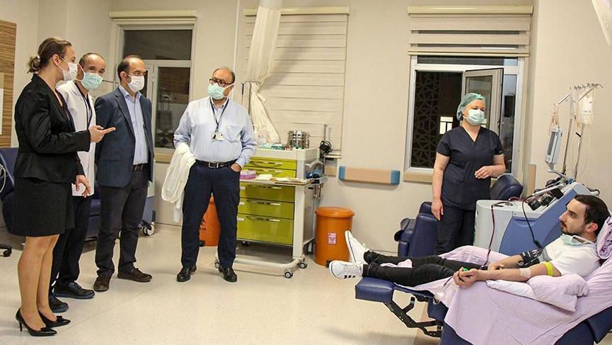 Plazma nakledilen 78 yaşındaki hastanın corona testi negatife döndü