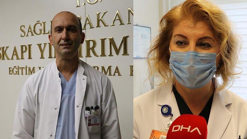 Corona virüsünü yenen doktor çiftten hayati öneriler