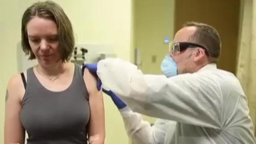 Corona virüsü aşısının denendiği ilk kişi konuştu