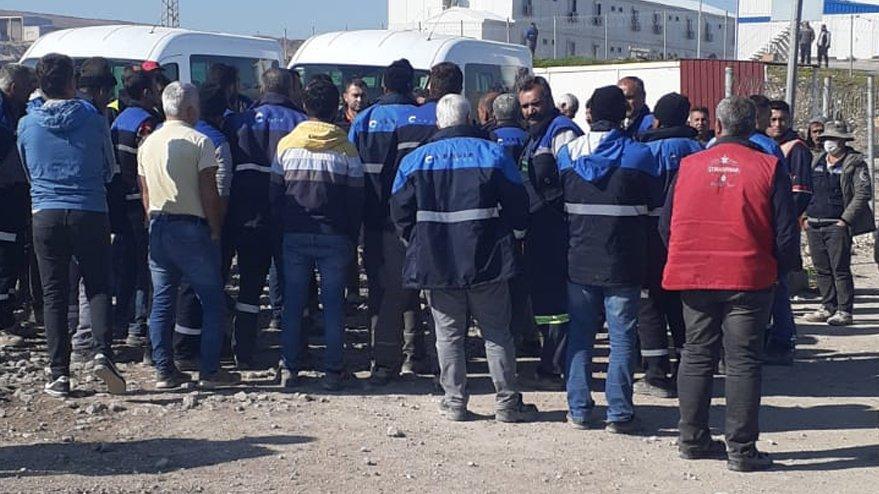 Mardin'de 300'e yakın demiryolu işçisi iş bıraktı