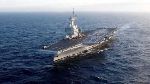 Fransız uçak gemisinde 668 kişide corona çıktı
