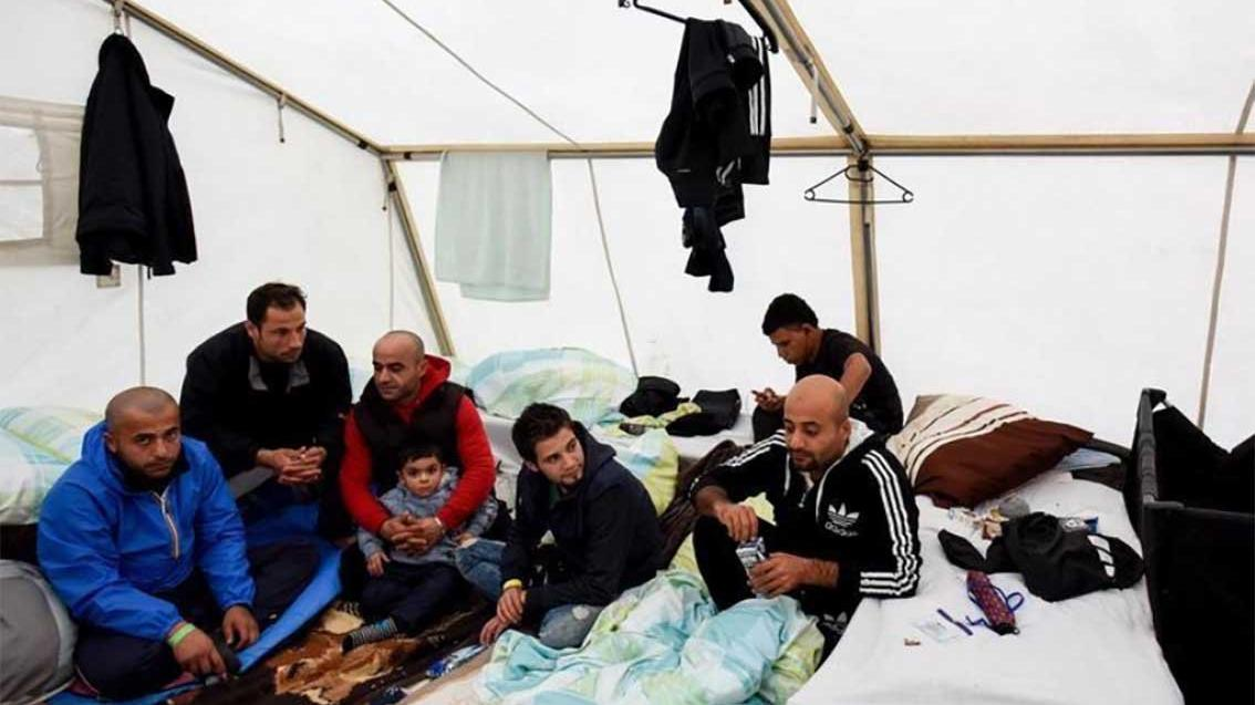 Mülteci kampında corona patlaması! 4 günde yarısına bulaştı