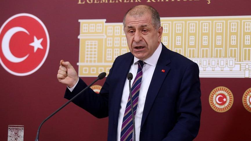 İYİ Partili Ümit Özdağ hakkında hazırlanan fezleke Meclis'te!