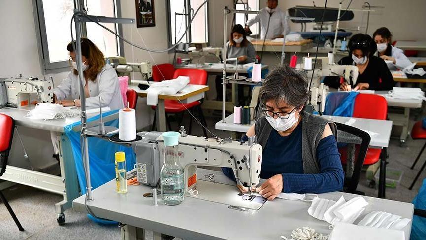 Maske üretiminde hazır giyimciler devreye girebilir