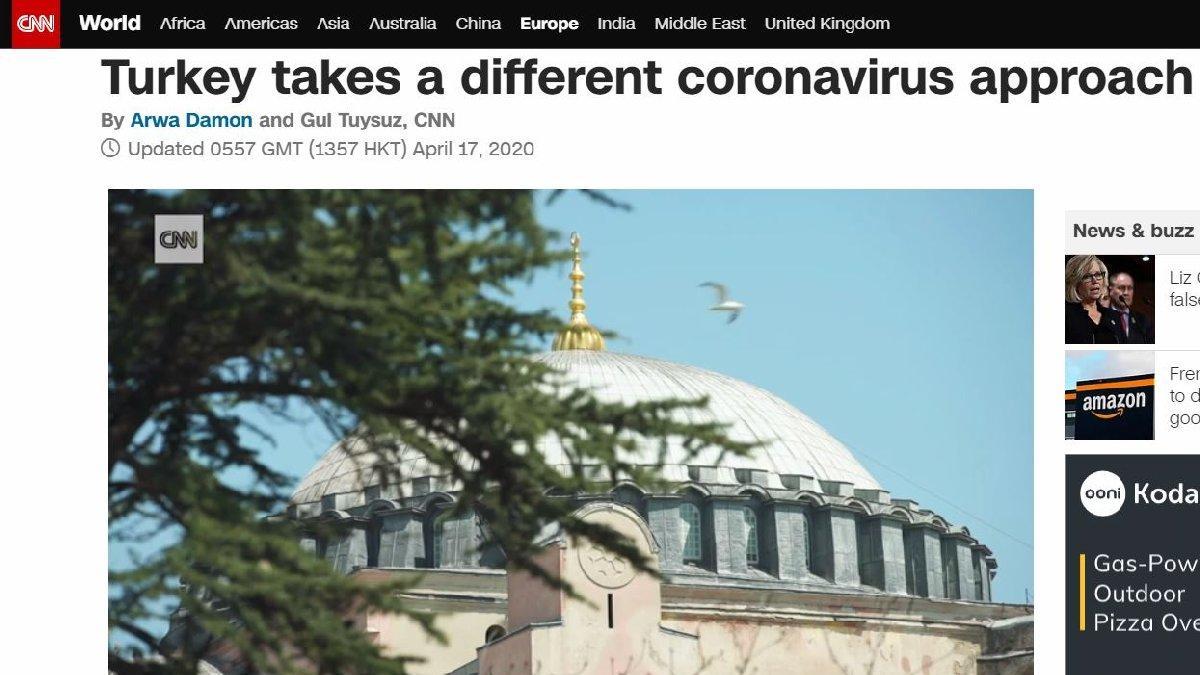 CNN'den corona virüse 'farklı' Türkiye yorumu