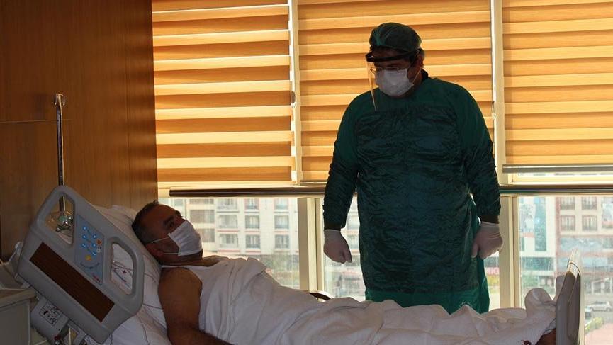 İmmün plazma tedavisi gören corona hastası: Yeniden doğmuş hissediyorum