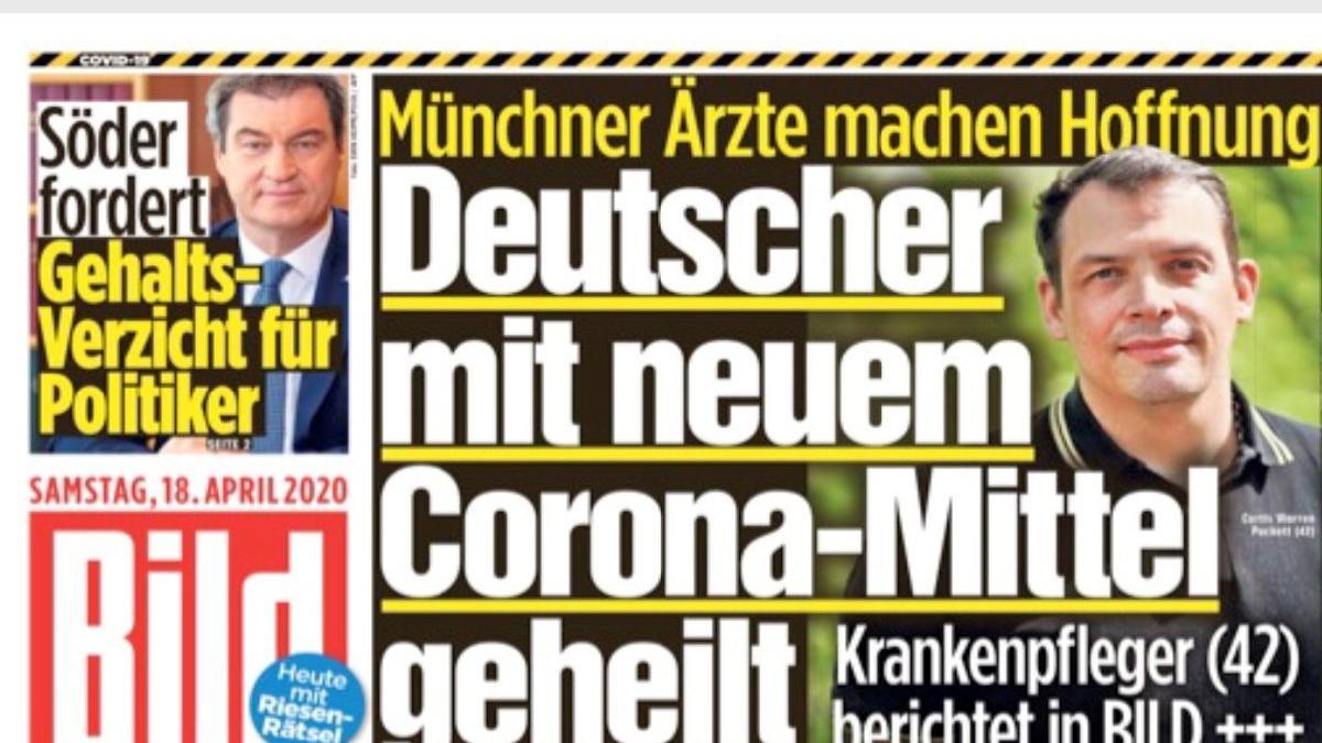 Almanya coronada umut veren ilacı konuşuyor: 1 haftada hayata döndüm