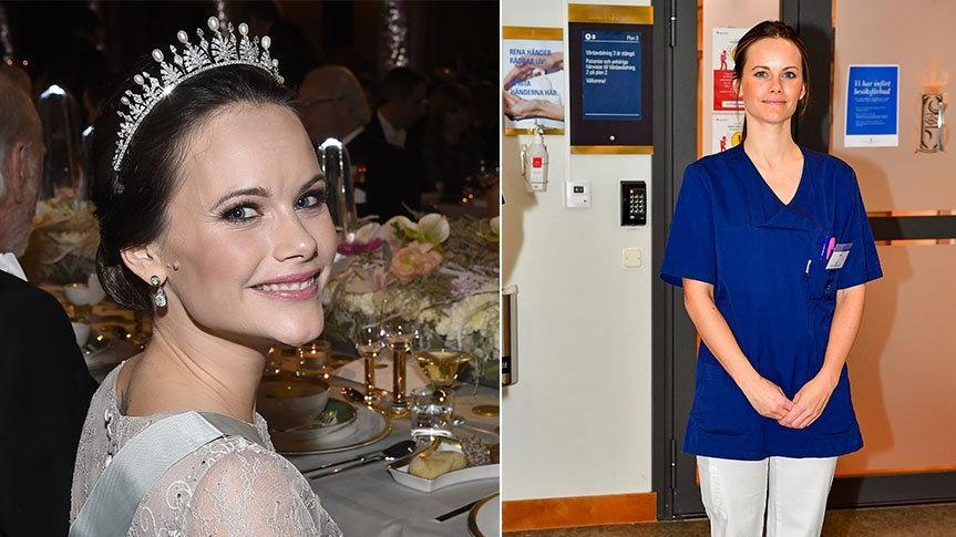 İsveç Prensesi Sofia, corona virüsle mücadelede gönüllü olarak hastanede çalışacak