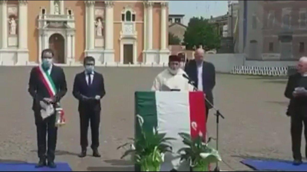 İtalyan belediye başkanından, 'Birlikte dua ediyoruz' etkinliği