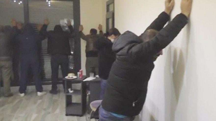 Villaya kumar baskını: 19 kişiye 67 bin lira ceza