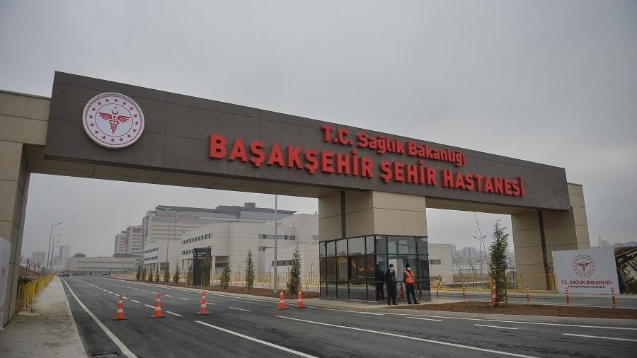 Başakşehir Şehir Hastanesi'ne 'gizemli' açılış