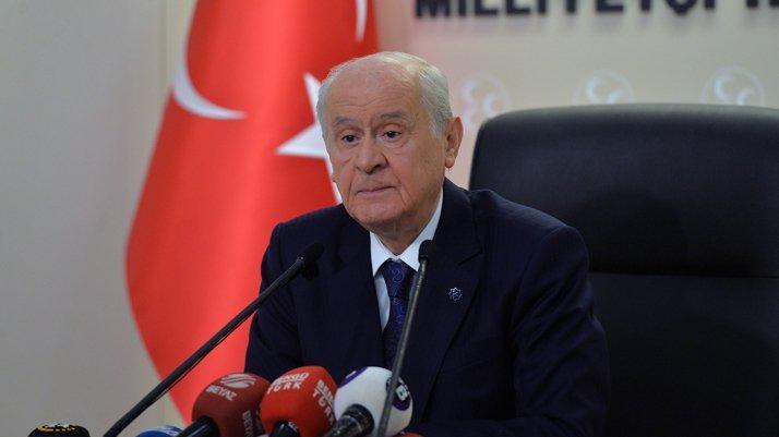Bahçeli'den CHP'ye sert eleştiri