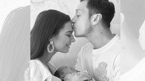 Mesut ve Amine'nin kızına 5 milyon liralık reklam teklifi!