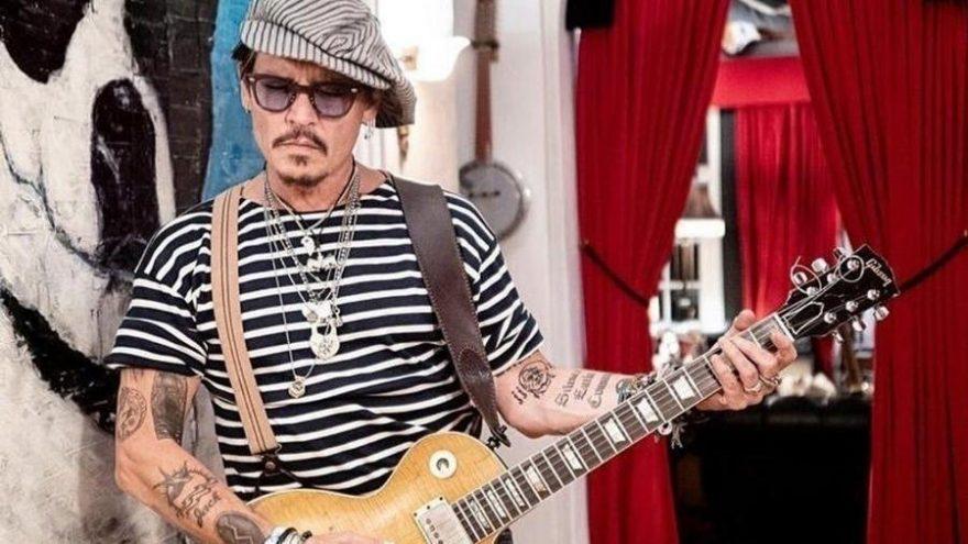 Johnny Depp ve Jeff Beck albüm çıkarıyor