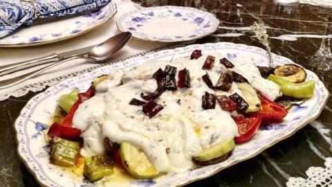 Soğuk sebze tabağı tarifi