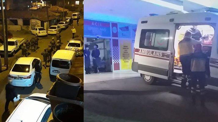 Tekirdağ'da silahlı çatışma: İki polis yaralandı
