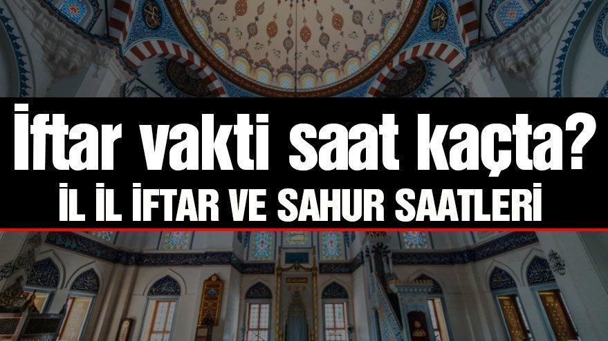 Adana sahur ve iftar vakitleri! (Adana imsakiye 2020)