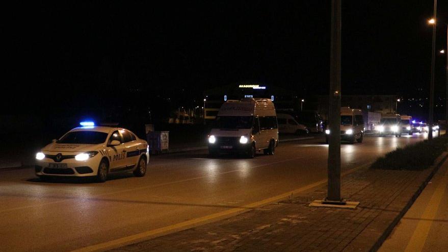 Filistin ve İsrail'den yurda dönen 38 kişi, Ankara'da KYK yurduna yerleştirildi