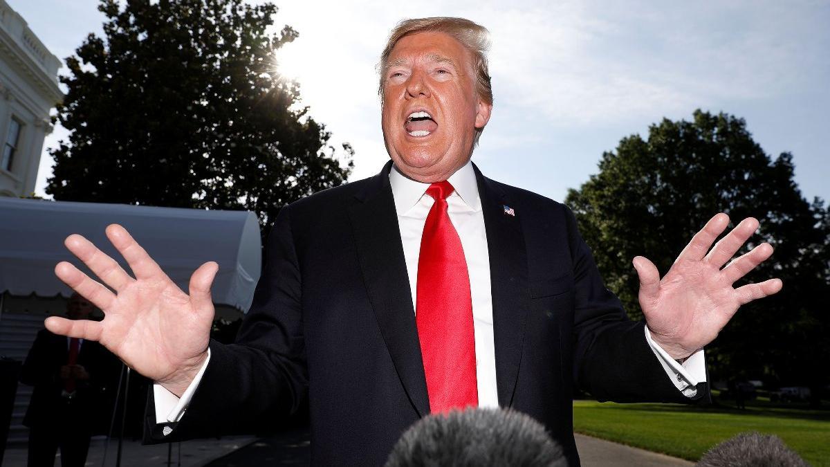 Trump'tan donanmaya vur emri